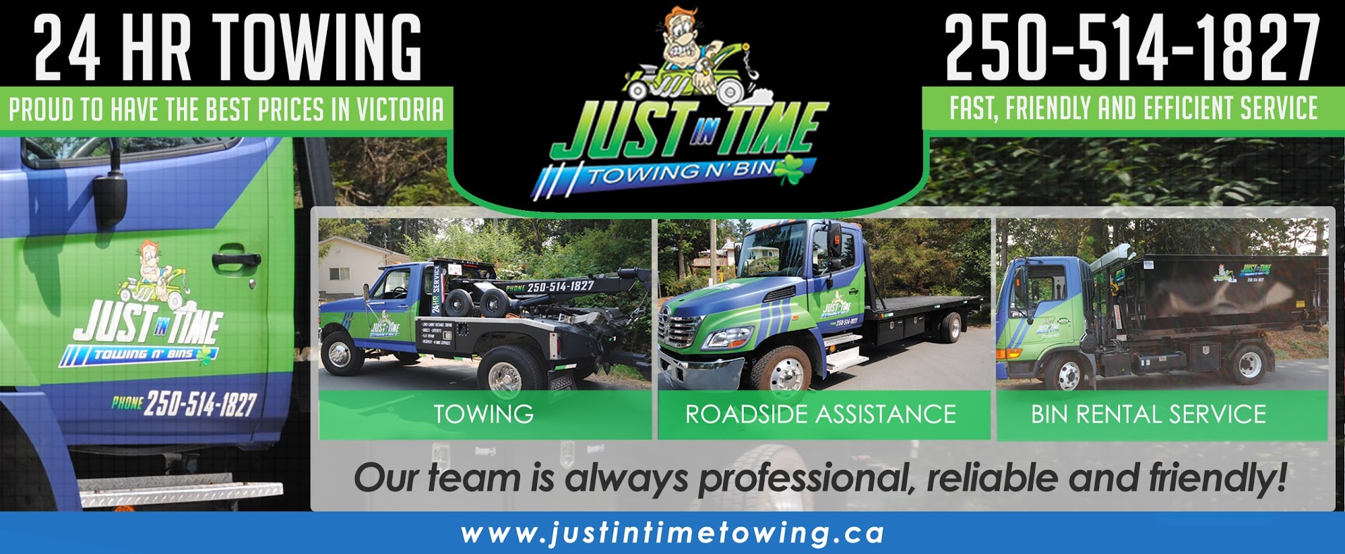 Just in Time Towing & Bins